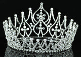 "Bridal Prom Pageant Beauty Contest 4.25"" (11 cm) Tall Tiara Crown XT1581"