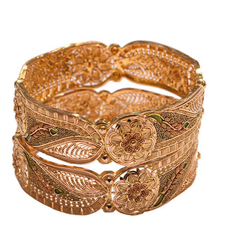 Khimji Gold Bangle- KD-CR-0002