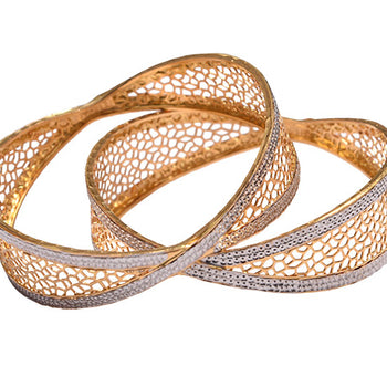 Khimji Gold Bangle- KD-CR-0003