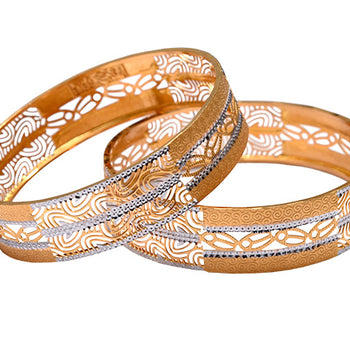 Khimji Gold Bangle- KD-CR-0004