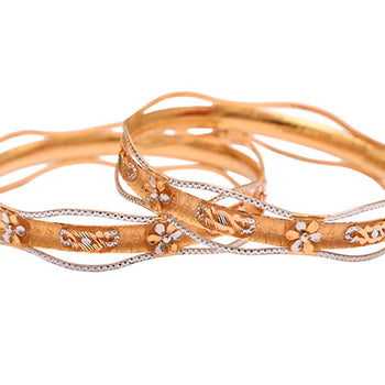 Khimji Gold Bangle- KD-CR-0005