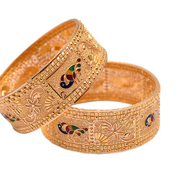 Khimji Gold Bangle- KD-CR-0006