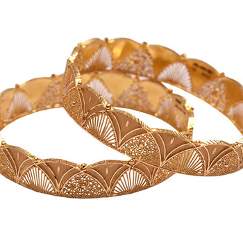 Khimji Gold Bangle- KD-CR-0007