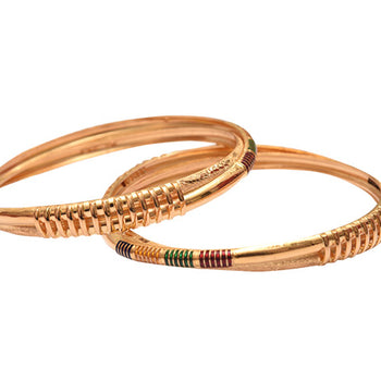 Khimji Gold Bangle- KD-CR-0012