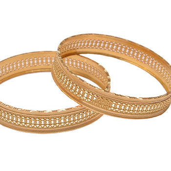 Khimji Gold Bangle- KD-CR-0015
