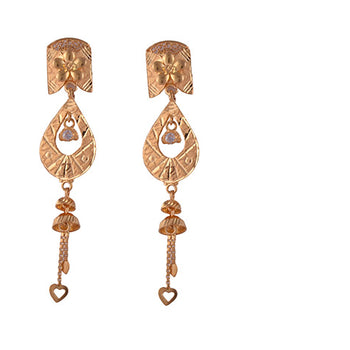Khimji Gold Earrings- KD/ER-0002