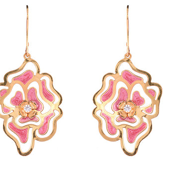 Khimji Gold Earrings- KD/ER-0003