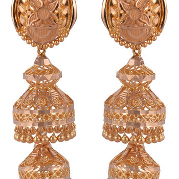 Khimji Gold Earrings- KD/ER-0005