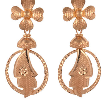 Khimji Gold Earrings- KD/ER-0008