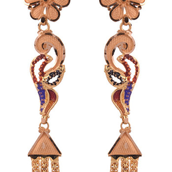 Khimji Gold Earrings- KD/ER-0009