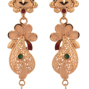 Khimji Gold Earrings- KD/ER-0010
