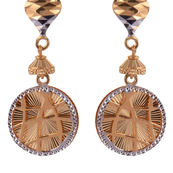Khimji Gold Earrings- KD/ER-0011