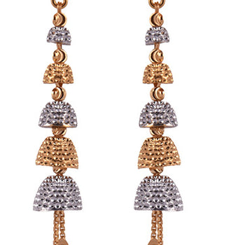 Khimji Gold Earrings- KD/ER-0012