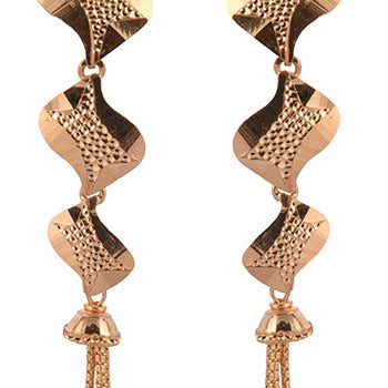 Khimji Gold Earrings- KD/ER-0014