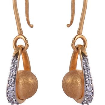 Khimji Gold Earrings- KD/ER-0015
