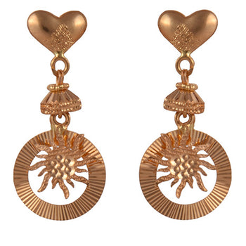 Khimji Gold Earrings- KD/ER-0016