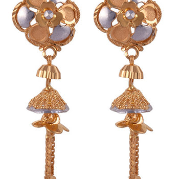 Khimji Gold Earrings- KD/ER-0017