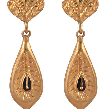 Khimji Gold Earrings- KD/ER-0018