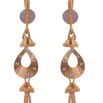 Khimji Gold Earrings- KD/ER-0021