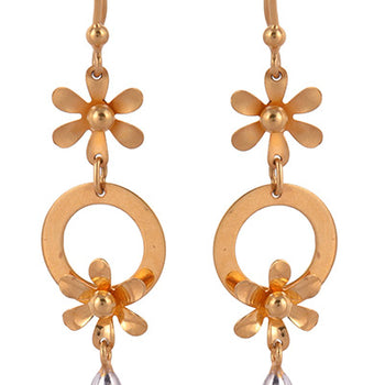 Khimji Gold Earrings- KD/ER-0022