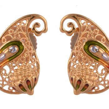 Khimji Gold Earrings- KD/ER-0023