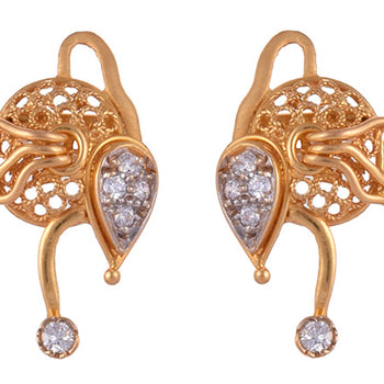 Khimji Gold Earrings- KD/ER-0024