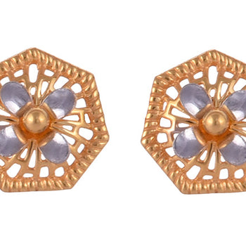 Khimji Gold Earrings- KD/ER-0025