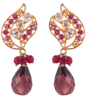 Khimji Gold Earrings- KD/ER-0026