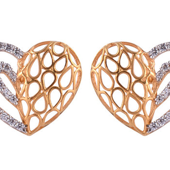 Khimji Gold Earrings- KD/ER-0029