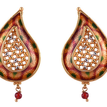Khimji Gold Earrings- KD/ER-0030