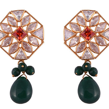 Khimji Gold Earrings- KD/ER-0032