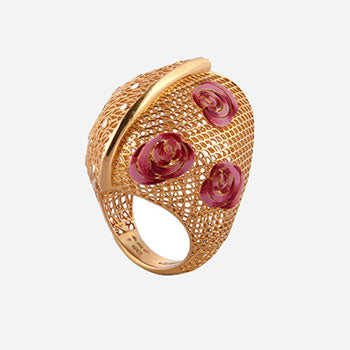 Khimji Gold Ring - KD-LRCST-0001