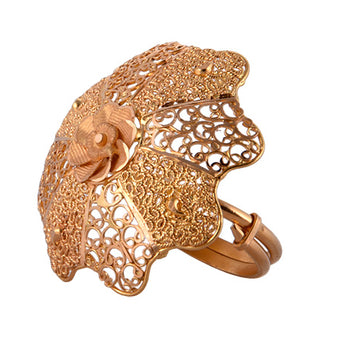 Khimji Gold Ring - KD-LRCST-0003