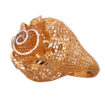 Khimji Gold Ring - KD-LRCST-0006