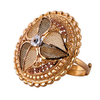 Khimji Gold Ring - KD-LRCST-0007