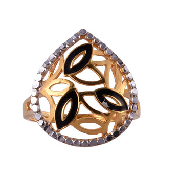 Khimji Gold Ring - KD-LRCST-0013