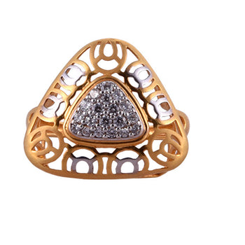 Khimji Gold Ring - KD-LRCST-0015