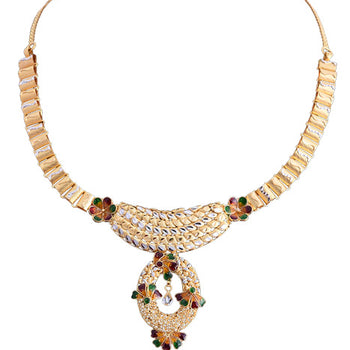 Khimji Gold Necklace- KD-NE0019