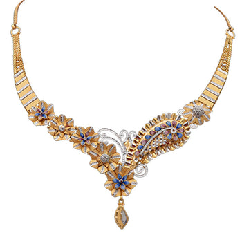 Khimji Gold Necklace- KD-NE0022