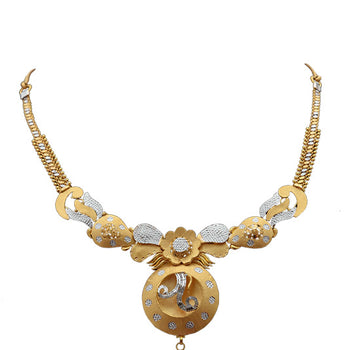 Khimji Gold Necklace- KD-NE0023