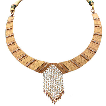 Khimji Gold Necklace- KD-NE0025