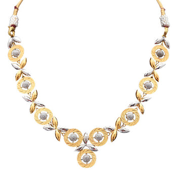 Khimji Gold Necklace- KD-NE0027