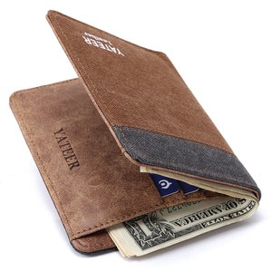 Fashion Men's Wallet | Canvas