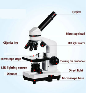 Student Biological Microscope | 1600X