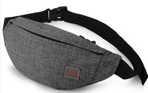 TINYAT Men Canvas waist bag