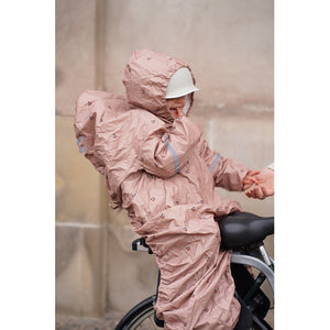 Konges Sløjd ApS BIKECYCLE RAINCOVER COVERS CHERRY BLUSH