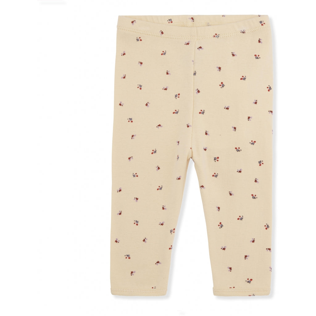 Konges Sløjd ApS NEW BORN PANTS PANTS BLOOM RED/BLUE