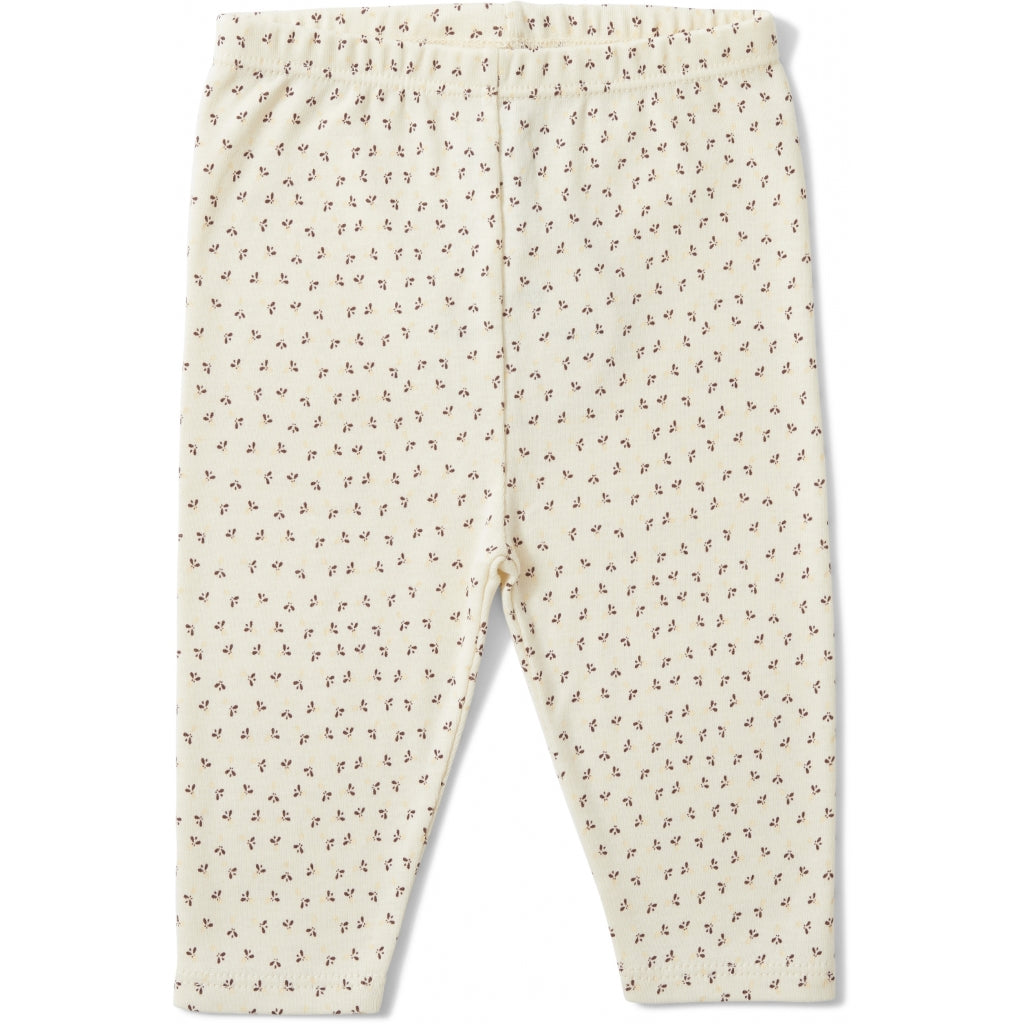 Konges Sløjd ApS NEW BORN PANTS NEW BORN TINY CLOVER BEIGE