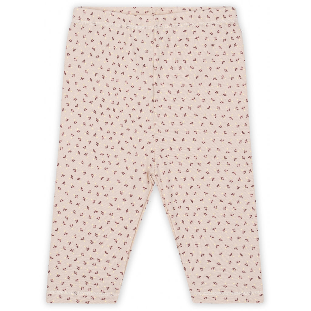 Konges Sløjd ApS NEW BORN PANTS NEW BORN TINY CLOVER ROSE