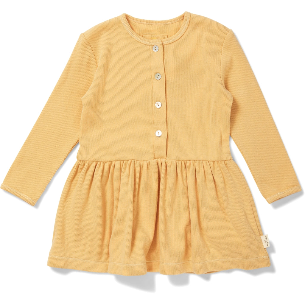 Konges Sløjd ApS SIFF DRESS DRESSES & SKIRTS ORANGE SORBET